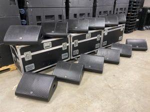 Ref 2051 Martin Audio LE1200 Monitor Set
